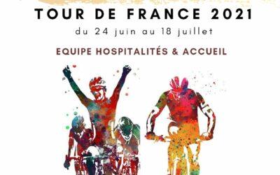 intégrez l'équipe accueil & hospitalités du tour de france 2021 !